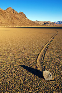 Moving Rock at Racetrack Playa